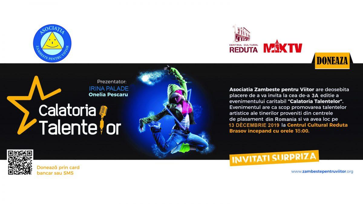 """INVITATIE la Unicul Spectacol – Eveniment Național """"Călătoria Talentelor"""" Ediția a IIIA"""